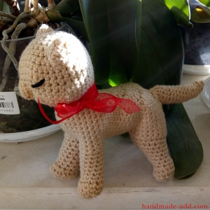 Baby gift cat. Crochet Toy - Knitted Toy - Soft Toy - Toy Cat - Crochet Doll - Stuffed Animal - Natural Toy - Christmas Gift - Baby Gift - Birthday Gift