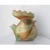 Ceramic Rooster Ceramic Bird Pottery Gift for her Bird  Sculpture Figurine Statuette Statue. Bird Fireplace Decor.