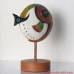 Ceramic Fish Figurine Statuette Statue Sculpture