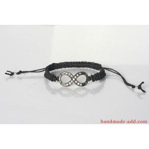 Friendship Bracelet Unisex Macrame Tibetan Infinity Bracelet