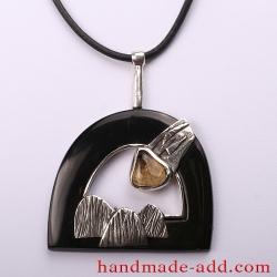 "Unique handmade necklace ""My Sunshine"""