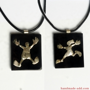 Necklaces Love and Friendship. Necklace for her and him.