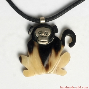 Necklace Monkey. Necklace for her.