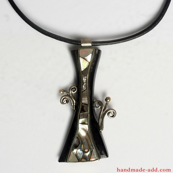 """Necklace """"My Lovely Flower"""" 
