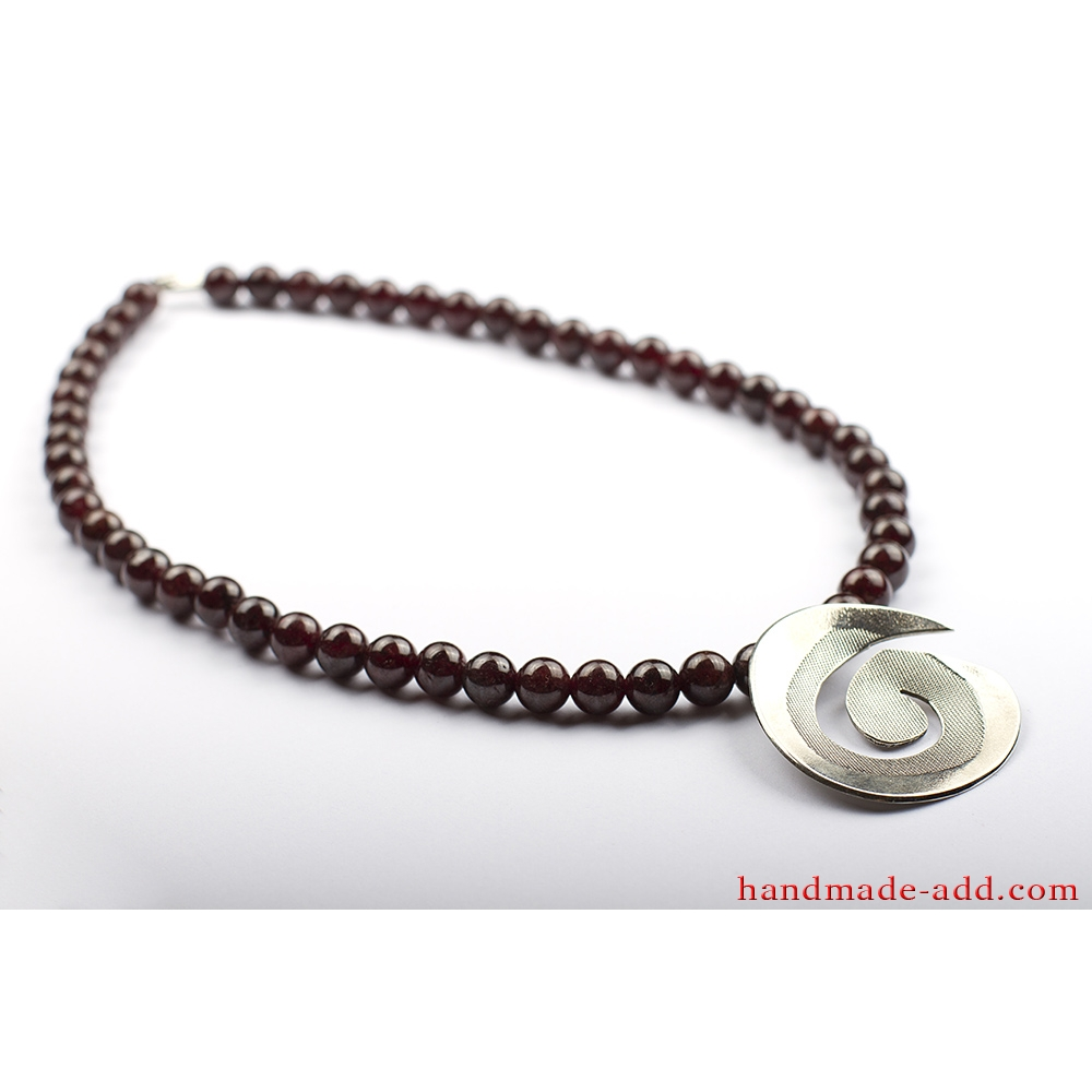 img love unique under leather necklace products gift poem tribal ethnic and gemstone