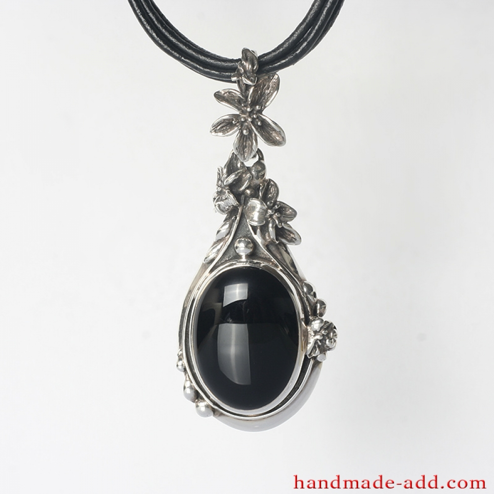 green n click gms expand onyx base to pearl necklaces treasure and gems pink elegant w in necklace metal view by chains