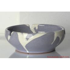 Vintage Ashtray. Ceramic Ashtray. Rare Large Ceramic Ashtray. Warm gray color.