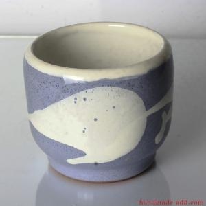 Vintage cup. Ceramic Cup. Rare Vintage Ceramic Cup. Warm gray color.