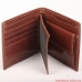 Mens wallet - top grain leather - LARGE COIN POCKET BIFOLD CLASSIC